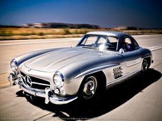 Mercedes 300SL Gullwing.