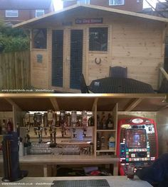 'Pub-Sheds' Quickly Becoming Hot Trend in Backyard Entertainment | Lighter Side of Real Estate