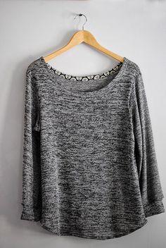 Shoreline Boatneck in sweater knit, sewn by Dandelion Drift, pattern by Blank Slate Patterns