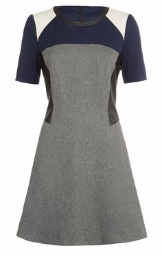I would wear this.  Primark AW13 Collection: Colour Block Skater Dress