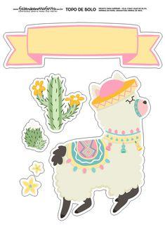 Free Stickers, Printable Stickers, Planner Stickers, Alpacas, Llama Birthday, Llama Alpaca, Print And Cut, Party Printables, Happy Planner
