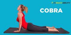 Cobra Pose for Sciatia Pain