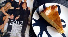 Rose & Lemon Curd Cheesecake