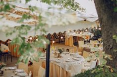 Hosting an outdoor wedding? Here are five ideas for how to take advantage of your space.
