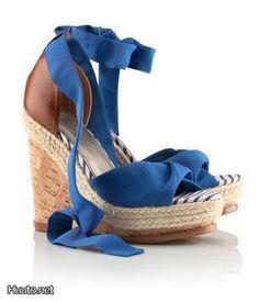 Kiilakorkokengät / Wedge-heeled shoes