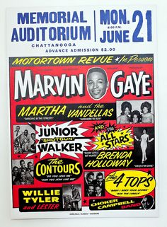 Motortown Revue | 1960s   3/6 by Black History Album, via Flickr
