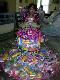 Barbie Candy Cake!