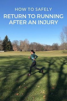 Returning to Running after Injury: Tips and Sample Plans to Build Back Your Running Mileage Safely Running Injuries, Running Workouts, Running Training, Running Tips, Cross Training, Running Plans, Beginner Half Marathon Training, Getting Back Into Running, Running Challenge