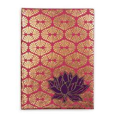 Lotus applique journal