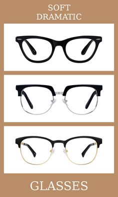 How to Choose Glasses that Suit You – Cozy Rebekah Dramatic Hair, Dramatic Makeup, Bold Hair Color, Races Fashion, Fashion Art, Dramatic Classic, Basic Outfits, Soft Summer, Wardrobe Basics