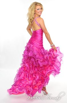 P20950 in Tangerine/Cranberry, Fuchsia/Pink