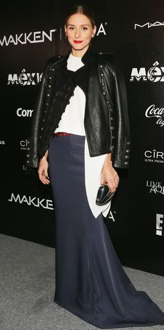 Look of the Day - November 17, 2014 - Olivia Palermo in CH Carolina Herrera from #InStyle