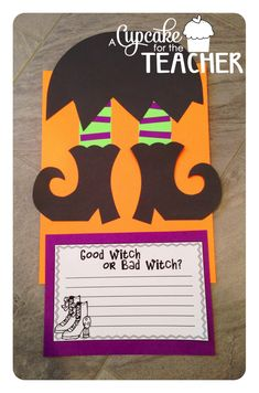 Adorable witch feet for Halloween decorating!