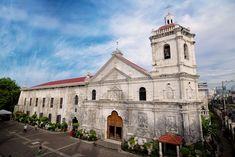 With of the population that practice Christianity, it's no surprise that Philippines owns a large number of churches. The Philippines has about as many churches as Bali has temples. Cebu, Unique Buildings, Holy Week, Spiritual Health, Future Travel, Philippines, Bali, Most Beautiful, Santos