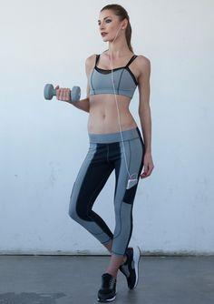 7ee623adb97a0d 9 best Nina B Roze Heart Butt Leggings images   Fitness equipment ...