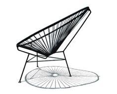 fauteuil typique du design mexicain des années 50 @ sentou. Top finition. Présence et confort