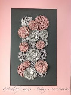 Quilling paper - Inspired by vector op art, 30 x 40 cm Quilling Flowers, Quilling Cards, Paper Quilling, Paper Flowers, Paper Art, Paper Crafts, Quilling Designs, Quilling Ideas, Kirigami