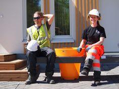 Tiikeripihan suunnittelu ja työnjohto: Pike Pekkarinen ja Mats Wikström (Kuva: Timo Rinkinen)
