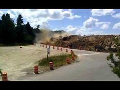 Explosion in Bath Maine