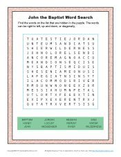 John the Baptist Word Search Activity for Kids Sunday School Activities, Bible Activities, Sunday School Lessons, Sunday School Crafts, Bible Games, Wedding Games For Kids, Kids Word Search, Bible John, Kids Church