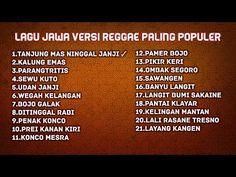 Lagu Jawa Versi Reggae Paling Populer - YouTube Best English Songs, Dj Remix, Reggae, Youtube, Musik, Youtubers, Youtube Movies