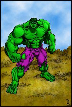 #Hulk #Fan #Art. (Hulk on rocky ground) By: Apocalypsethen. (THE * 5 * STÅR * ÅWARD * OF: * AW YEAH, IT'S MAJOR ÅWESOMENESS!!!™) ÅÅÅ+