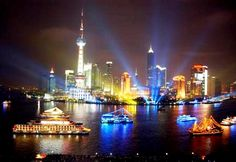 Shanghai: Huangpu River and Cruise: The Huangpu River is not only the mother river of Shanghai, but also assembles the splendid tourist attractions of the city.