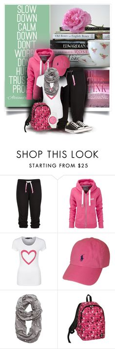 """""""Day off"""" by luciana-dr ❤ liked on Polyvore featuring Superdry, Love Moschino, Polo Ralph Lauren, American Eagle Outfitters, Juicy Couture and Converse"""