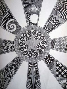 Black & White sketchbook doodles by Max Little, via Behance                                                 youtube to mp3