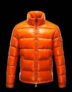 Moncler Uomini Giacca Maya Arancione €248.95
