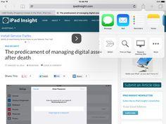 9 of the Most Useful Safari Shortcuts for iPad  via iPad Insight #ios #iPad #mobile