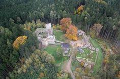 Kudy z nudy - Zřícenina hradu Orlík u Humpolce s rozhlednou