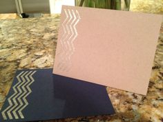 Custom Hand Embossed Stationery by CraftyLittlePiggie!