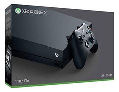 """Xbox One X Console. Edition:X Xbox One X is the world's most powerful console. Blockbuster titles look great, run smoothly, and load quickly even on a screen. – Daily Star (UK) """"An incredibly impressive console. Playstation, Xbox 360, Jeux Xbox One, Xbox One S, Xbox One Games, Buy Xbox, Nintendo Ds, Switch Nintendo, Nintendo Games"""