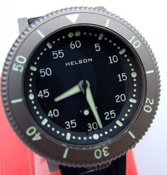 Helson Titanium Gauge Watch