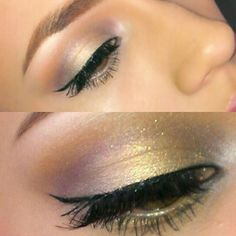 Used the @Urban Decay Glinda palette. Its so innocent...;)