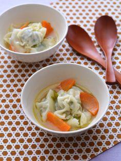 スープ仕立ての水餃子 by 西山京子/ちょりママ | レシピサイト「Nadia | ナディア」プロの料理を無料で検索