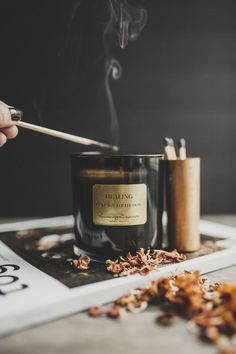 Styling and product photography of candle line Candle Branding, Candle Packaging, Candle Labels, Candle Jars, Candle Holders, Candle Picture, Photo Candles, Fall Candles, Diy Candles
