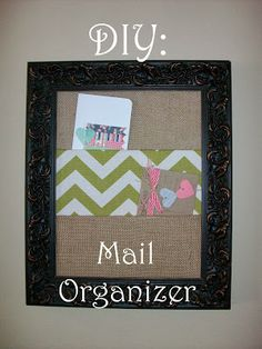 Tutorial for my mail organizer