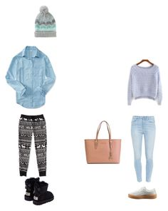 """""""..."""" by luhhbitts on Polyvore featuring Aéropostale, UGG Australia, Paige Denim, Puma and MICHAEL Michael Kors"""