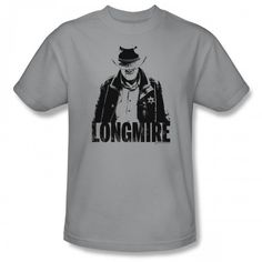 Longmire Grayscale T-Shirt - Grey