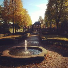 A place of peace are the Hesperides gardens in Nuremberg...