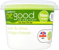 Sainsbury's Be Good to Yourself Chive Cottage Cheese (300g)