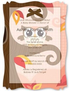 Owl Girl - Look Whooo's Having A Baby - High Quality Vellum Overlay Baby Shower Invitations With Squiggle Shape - Party Supplies Baby Shower Fun, Baby Shower Gender Reveal, Baby Shower Themes, Shower Ideas, Baby Showers, Bridal Showers, Baby Girl Owl, Baby Owls, Baby Shower Invitaciones