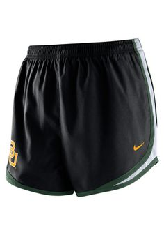 Baylor Bears Womens Nike Tempo Shorts http://www.rallyhouse.com/shop/baylor-bears-shorts-bears-nike-womens-black-tempo-shorts-12513597?utm_source=pinterest&utm_medium=social&utm_campaign=Pinterest-BaylorBears $36.00