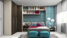 Dormitório Harlem | Grupo Eleganza - New móveis planejados