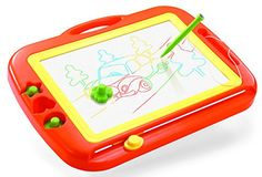 Holy Stone Magnetic Drawing Board Erasable Colorful Doodle Sketch Large Size Upgraded Version,Color Orange >>> Click here for more details @