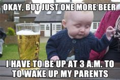 drunk baby pictures and jokes :: memes / funny pictures & best jokes: comics, images, video, humor, gif animation - i lol'd Funny Baby Memes, Funny Babies, Funny Kids, Funny Drunk, Baby Humor, Funny Humor, Baby Jokes, Kid Memes, Baby Memes