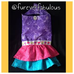 Furever Fabulous - like us on facebook Follow us on Instagram @fureverfabulous Dog clothes, accessories and more! Birthday dress!