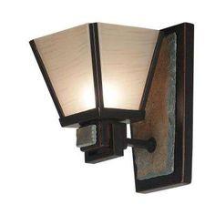 Clean Slate 1-Light Oil Rubbed Bronze Sconce Vanity Lighting, Wall Sconce Lighting, Wall Sconces, Gold Glass, Glass Art, Bath Fixtures, Ceiling Fixtures, Light Fixtures, Glass Texture